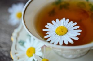 Chamomile-based tea drink