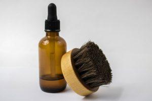 Beard Oil and Brush