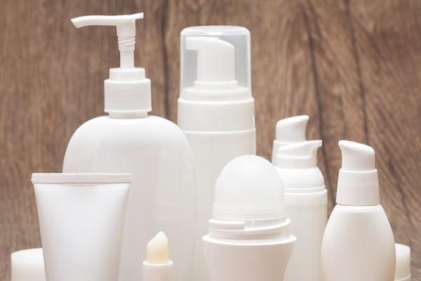 Daily personal care products that contain chemicals.