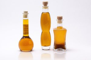 Three bottles of argan oil products