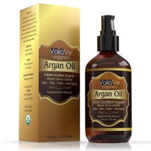VoilaVe Organic Moroccan Argan Oil