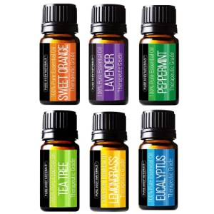 Pure Body Naturals Essential Oils Set for Beginners